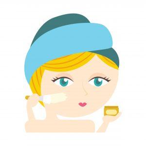 Crème fixatrice de maquillage