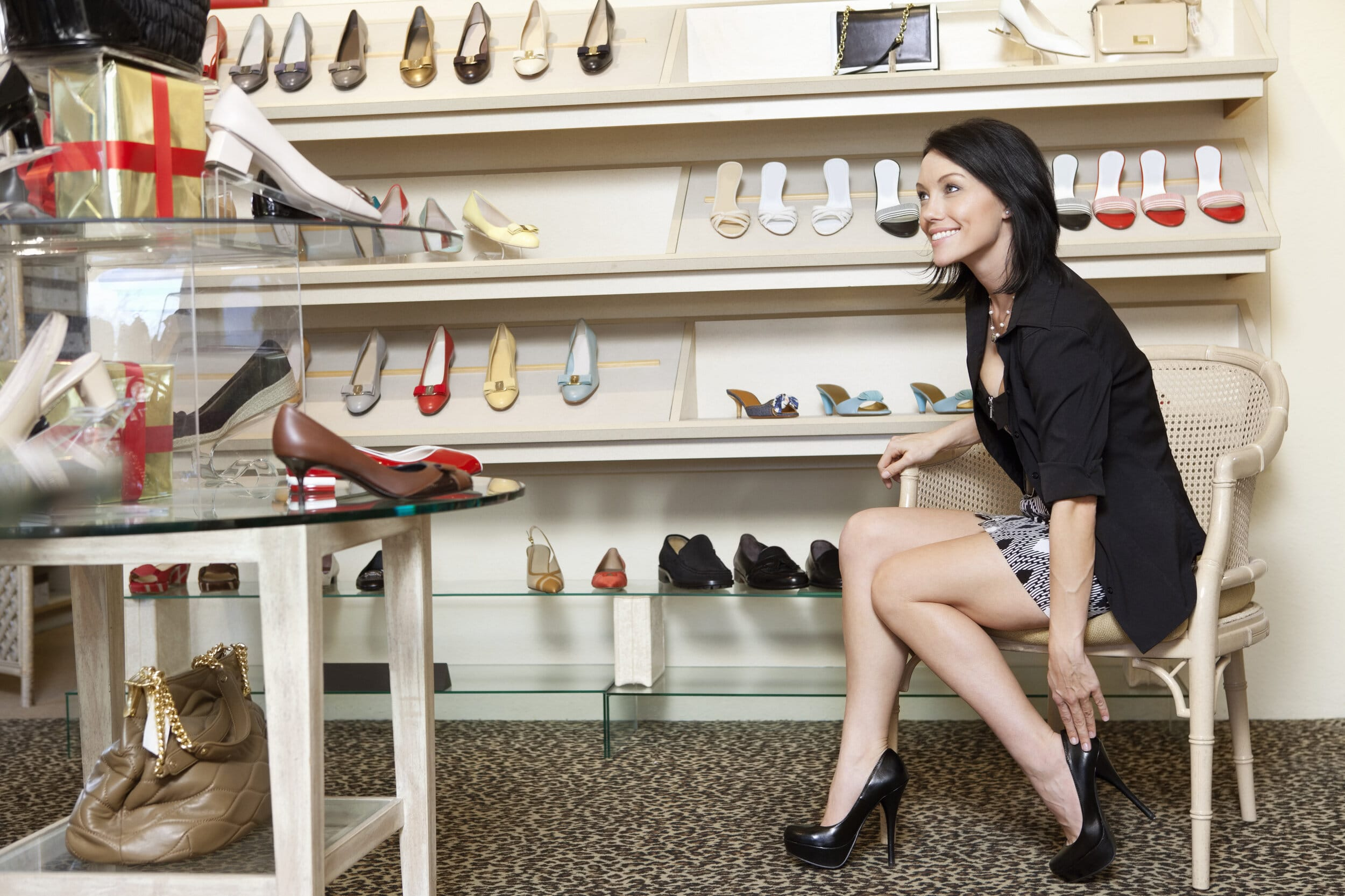 robe et chaussure