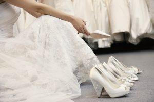 Choix chaussures mariage